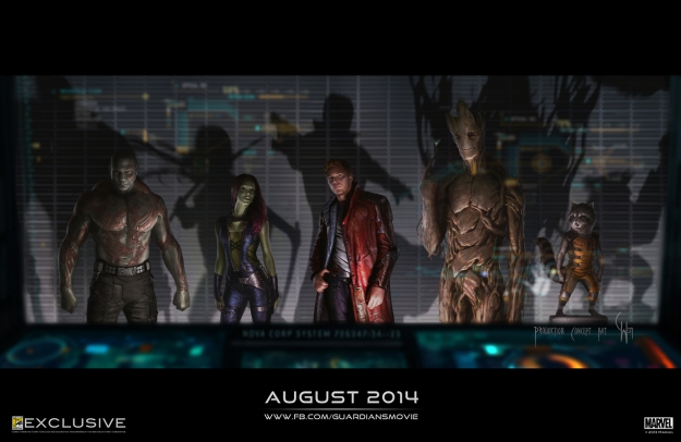 Guardians-of-the-Galaxy-Artwork-Comic-Con-Personnages