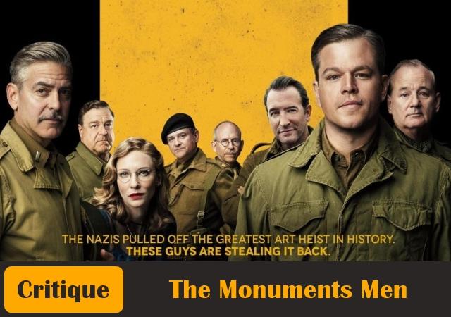 The-Monuments-Men-Critique-Affiche