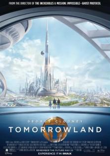 A la poursuite de demain réalisé par Brad Bird. Sortie cinéma le 20 mai 2015.