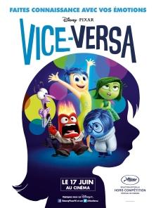 Vice-Versa réalisé par Pete Docter. Sortie cinéma le 17 juin 2015.
